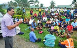 Die Ausgesperrten an Fidschis grösstem Flughafen Heiligabend 2017