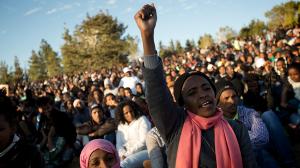 38.000 afrikanische Flüchtlinge sollen am 1.4.2018 entweder abhauen - oder ins Gefängnis...