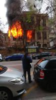 Der Brandanschlag der faschisten während der Nationalistendemo in Thessaloniki am 21.1.2018