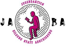 Logo der Jugendaktion Bildung statt Abschiebung