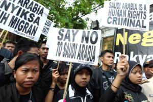 Proteste gegen Saudi arabien sind in vielen asiatischen Ländern Alltag