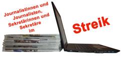Streik für Tarifbindung bei der Rheinischen Redaktionsgemeinschaft (RRG)