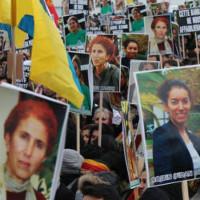 Demo in Paris am 6.1.18 zum 5. Jahrestag der Ermordung dreier kurdischer Aktivistinnen