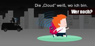 """[Protestaktion von Digitalcourage] """"Schutzranzen"""": überwachte Grundschulkinder sponsored by VW & Co."""