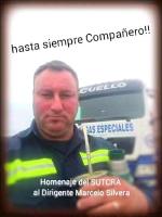Am 3.1.18 in Rivera - Uruguay - ermordet - der Gewerkschaftssekretär Silvera