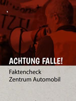 Achtung Falle – Faktencheck Zentrum Automobil