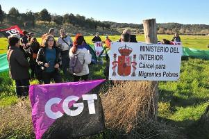 CGT Algeciras besetzt Baugelände für neuen Flüchtlingsknast