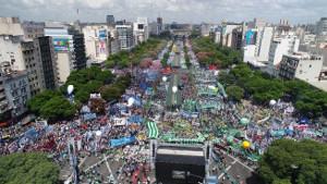Der Sieg der Zahl: 400.000 in Buenos Aires am 21.2.2018