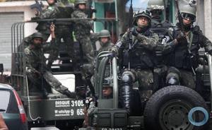 Einmarsch in Favela am 16.2.2018
