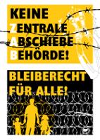 Plakat noZAB Münster