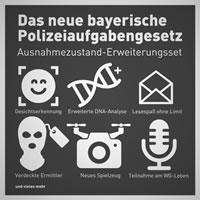 Polizeiaufgabengesetz Bayern