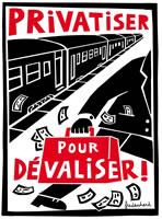 Kampf gegen die Privatisierung der französischen Bahn