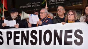 Die größte aller Rentendemos im Februar 2018 - 40.000 in Bilbao
