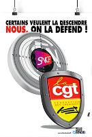 CGT Plakat gegen SNCF Privatisierung Februar 2018