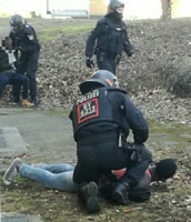 Masseninhaftierung nach Protest in der Erstaufnahmeeinrichtung in Donauwörth