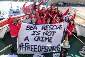 "Italienische Behörden beschlagnahmen erneut Rettungsschiff - Free ""Open Arms""!"