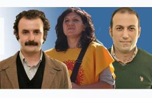 Die drei Verhafteten von Izmir 16.3.2018