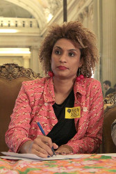 Marielle Franco ermordet am 14.3.2018 in Rio