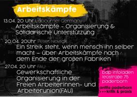 [Vortrag am 13. April 2018 in Paderborn] Labournet: Arbeitskämpfe – Organisierung & Unterstützung