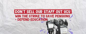 Britischer Unistreik: Protest gegen Gewerkschaftsvorstand der UCU