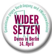 14. April 2018 in Berlin: WIDERSETZEN – Gemeinsam gegen Verdrängung und Mietenwahnsinn