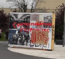 Fofo von Bernard Schmid von der Protestfront in Frankreich