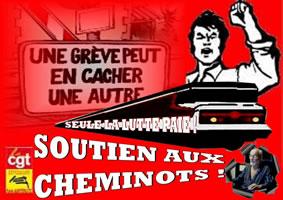 Frankreich: Streikbewegung der Bahn im April 2018