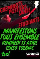 Frankreich: Neues von der Protestfront am 13.4.2018