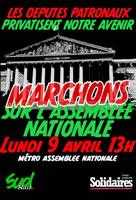 Frankreich: Eisenbahnerstreik gegen Privatisierung im April 2018 ginnt stark