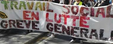 Frankreich: Soziale Berufe im Kampf im April 2018