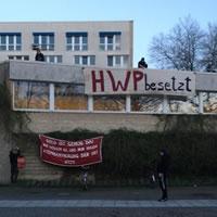 [Hamburg] Exzellent entrüstet: Unsere Sorbonne ist die HWP - besetzt!