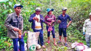 Kambodschanische Bauern gegen Landgrabbing von Konzernen aus Thailand und China Februar 2018