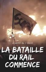Frankreich am 3.4.2018: Eisenbahnerstreik beginnt stark. Auch die Müllversorgung fängt an zu streiken