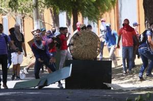 20.4.2018 Proteste in Managua gegen Rentenreform
