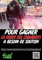 Sud rail: Spendenaufruf für den Streik der französischen EisenbahnerInnen