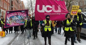 13. April 2018 Urabstimmung an britischen Unis - UCU Opposition gegen Tarifvereinbarung wegen Renten