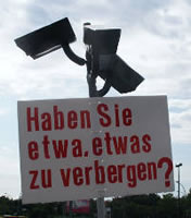 Videoüberwachung: Haben Sie etwa etwas zu verbergen?