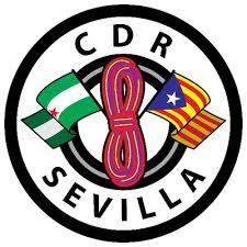 Logo der am meisten terroristischen Organisation Spaniens: Komitee zur Verteidigung der Republik