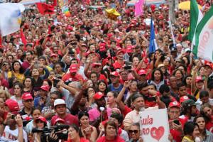 Maidemo 2018 in Curitiba für Lulas Freiheit