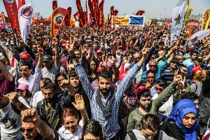 Maikundgebung der DISK 2018 in Istanbul (Maltepe)