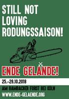 Ende Gelände 25. bis 29. Oktober 2018