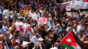 Protest in Amman - auch gegen den König am 1.6.2018