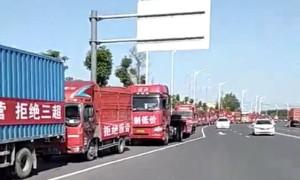 Trucker-Streik China am 8.6.2018