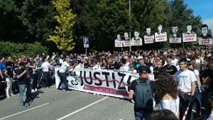 80.000 in Irun gegen spanische Justiz 16.6.2018