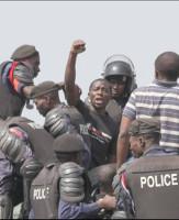 Das Bild, das Luc Nkulula afrikaweit berühmt machte: Festnahme in Goma