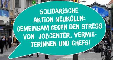 Die »Solidarische Aktion Neukölln«