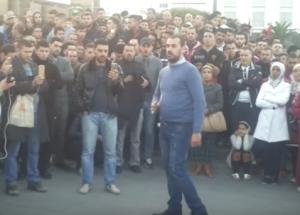 Der Hauptangeklagte wegen der Rifproteste - Nasser zu 20 Jahren verurteil im Juni 2018