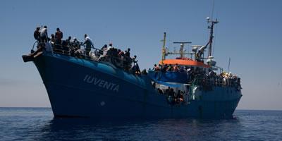 Jugend rettet: Das Boot »Iuventa«