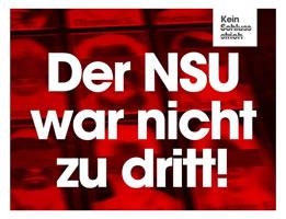 Der NSU war nicht zu dritt!