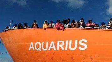 """Seenotschiff """"Aquarius"""""""